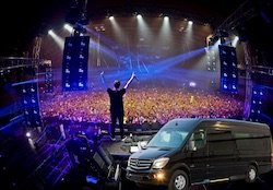 nyc concert limo sprinter shuttle bus service