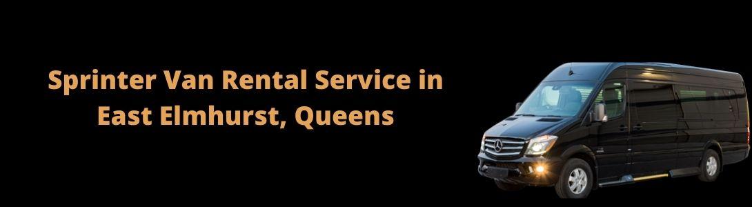Sprinter Van Rental Service in East Elmhurst, Queens